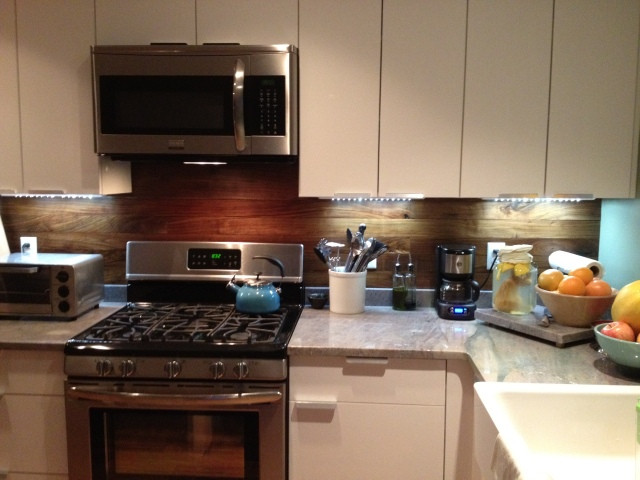 black walnut backsplash, granite countertop 1322